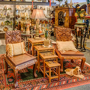 Antique Consignment at Hampden Street Antique Market